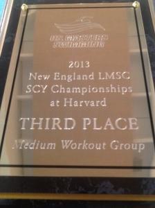 New England LMSC SCY Championships- Third Place Medium Group