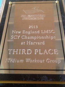 New England LMSC SCY Championships- Third Place Medium Group