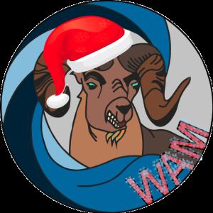 WAM Christmas Logo